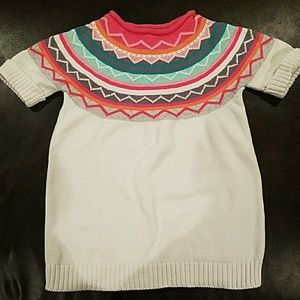 Gymboree Girls Short Sleeve Sweater - Size 7-8
